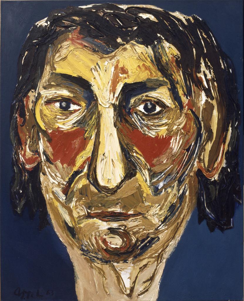 Karel Appel, Mijn Moeder, 1963, olieverf op doek, c Karel Appel Foundation, foto Gemeentemuseum Den Haag