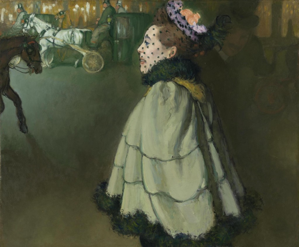 Louis Anquetin, Vrouw op de Champs-Elysées bij nacht, 1890-1891, Van Gogh Museum Amsterdam, verworven met steun van de Bankgiro Loterij en de Vereniging Rembrandt