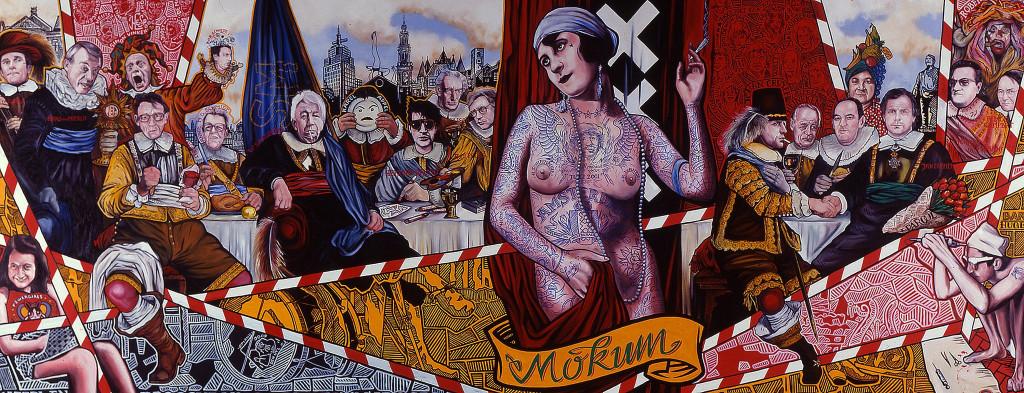 Henk Schiffmacher, Aldert Mantje, Mokum, 2001, foto Amsterdam Museum