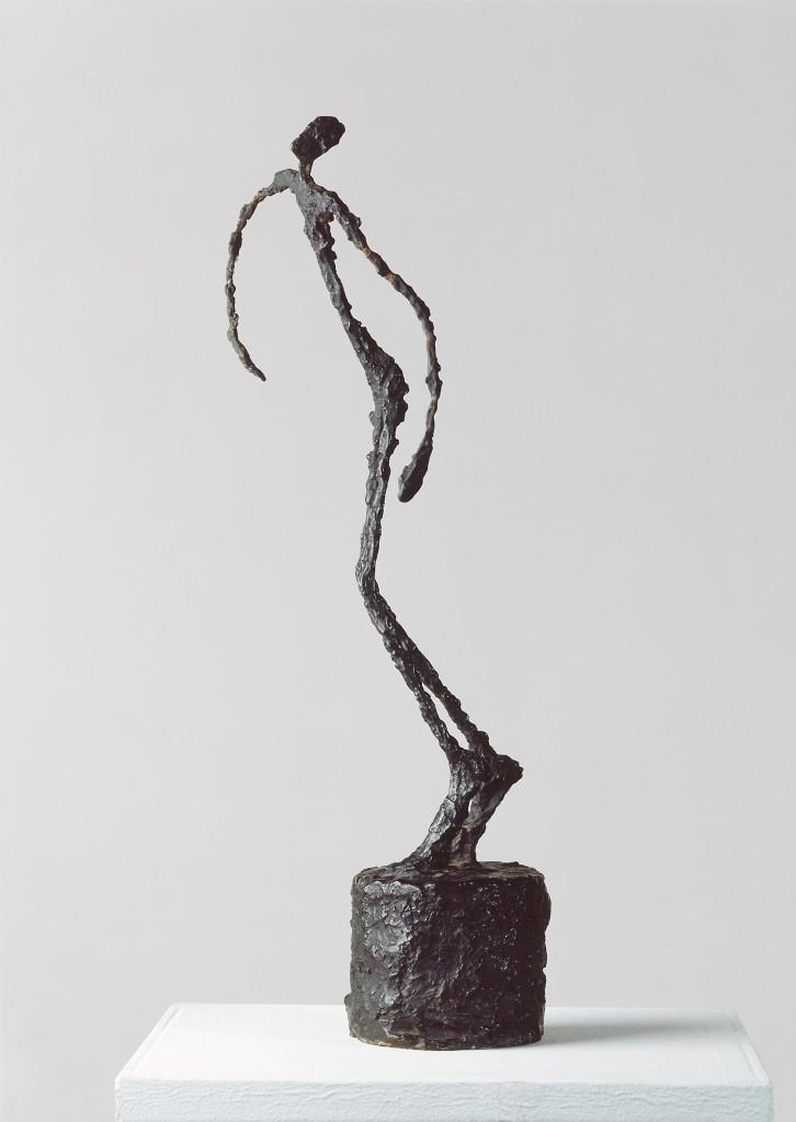Alberto Giacometti, L'homme qui chavire, 1950, brons. Foto: Kunstmuseum Basel