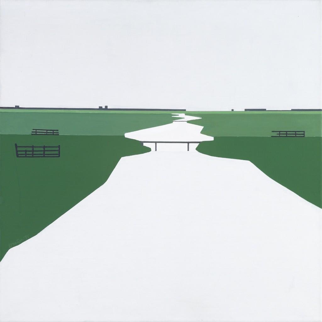Rein Draijer, Hollands landschap, 1975, particulier bezit, foto Museum More