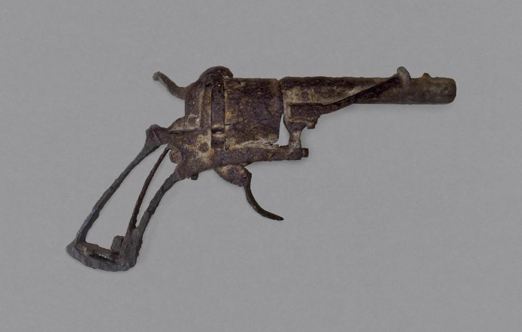 Revolver, type 'Lefaucheux à broche, 7 mm, 1865-1873, particuliere collectie