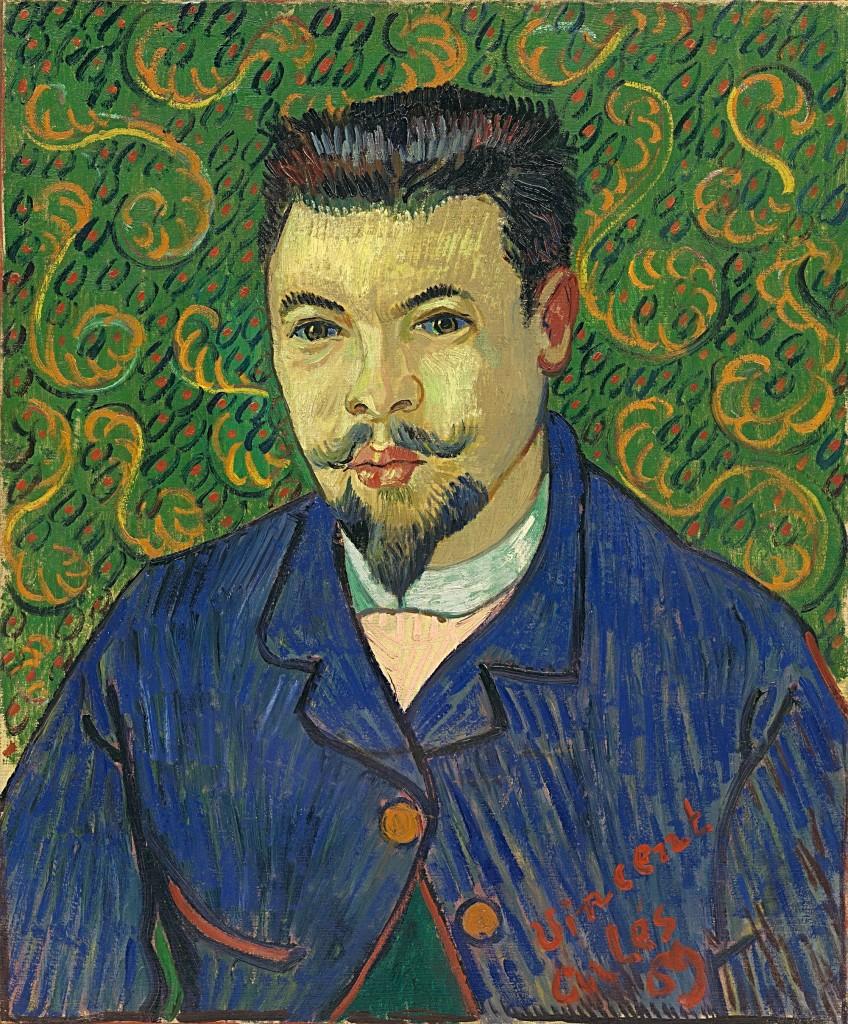 Vincent van Gogh, Portret van Dr. Félix Rey, januari 1889, olieverf op doek, The State Pushkin Museum of Fine Arts, Moskou