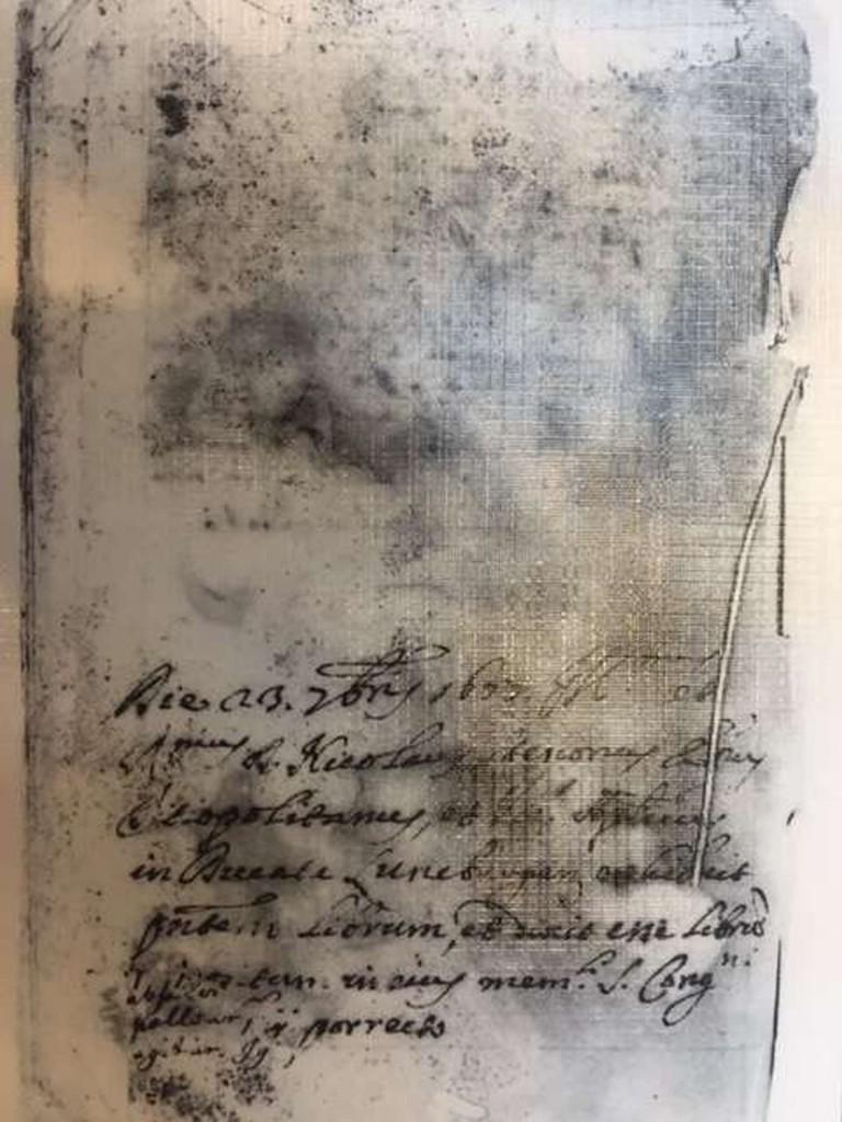Manuscript Ethica van Spinoza, Pieter van Gent, Amsterdam (?), ca. 1667 (?), collectie Vatican City, Biblioteca Vaticana, Rome