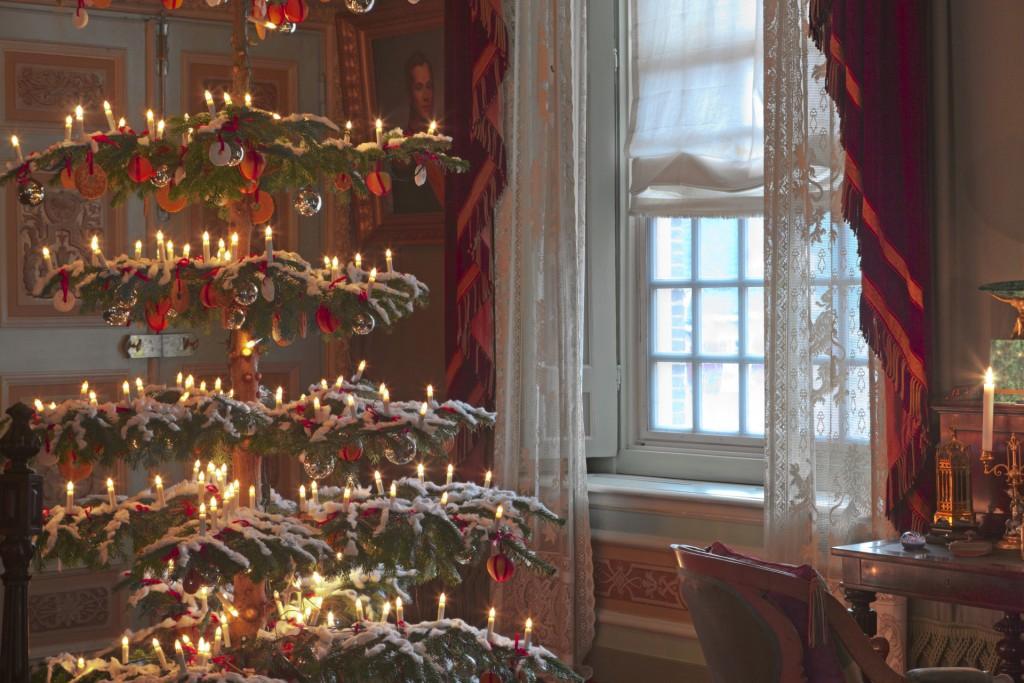 Kerstsfeer in Winterpaleis Het Loo, foto Hesmerg