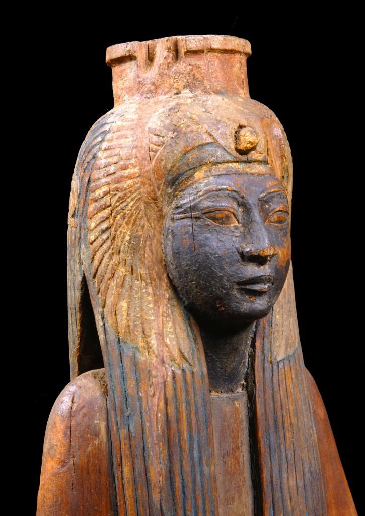 Koningin Ahmose Nefertari, foto en collectie Museo Egizio, Turijn