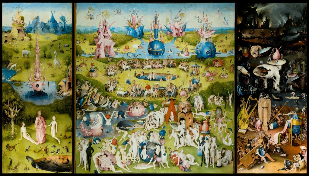Jheronimus Bosch, Tuin der Lusten, collectie Prado, Madrid