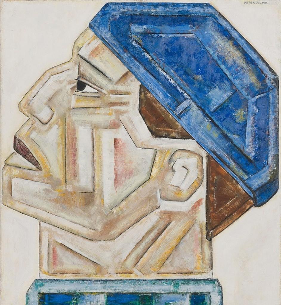 Peter Alma, Havenarbeider, 1924, foto Museum Arnhem