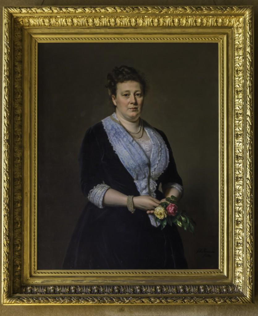 Portret Paulina Bisdom van Vliet, Thérèse Schwartze, 1892. Fotografie: Bert Muller