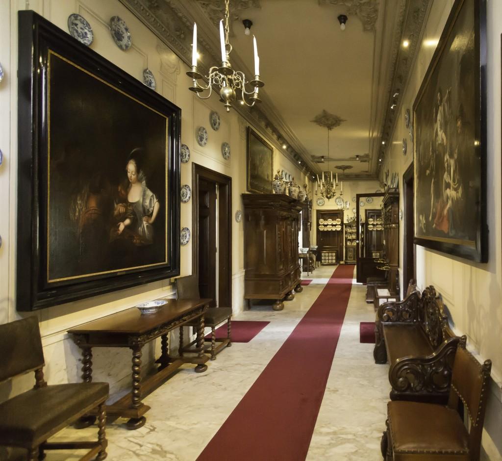 De gang, foto Museum Bisdom van Vliet