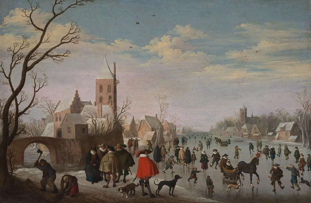 Joost Cornelisz Droochsloot, 1625, olieverf op doek 100 x 125 cm, privé-collectie Frankrijk. Een van de werken die Haboldt presenteert op de Tefaf