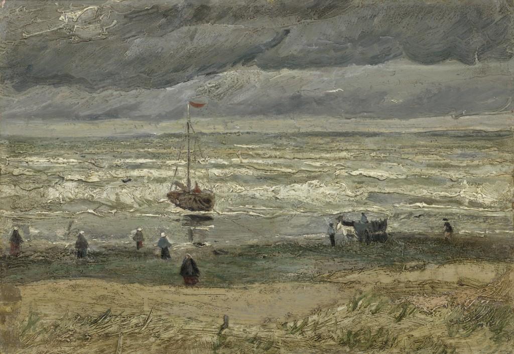 Vincent van Gogh, Zeegezicht bij Scheveningen, 1882, foto Van Gogh Museum