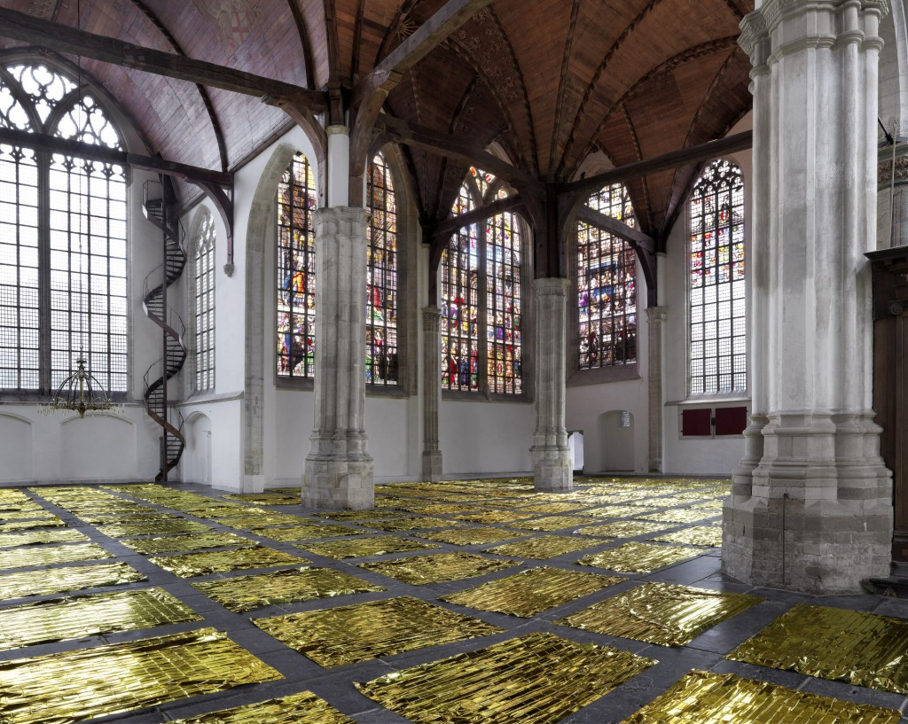 Oude Kerk, Sarah van Sonsbeeck. foto Gert-Jan van Rooij