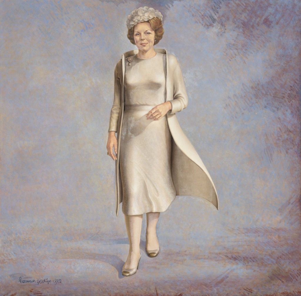 Herman Gordijn, Koningin Beatrix, 1982, bruikleen Rijksdienst voor het Cultureel Ergoed