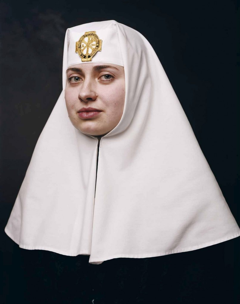 Andres Serrano, Sister Irina, Alexander Nevsky Church, Jerusalem (Jerusalem), 2014, 1/3 (editie van 3 + 2 AP), Courtesy Galerie Nathalie Obadia Parijs/Brussel