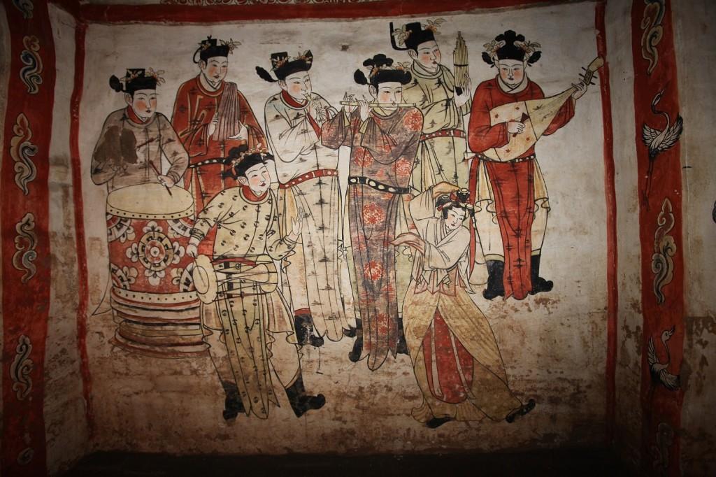 Graf van Zhang Kuangzheng, Xuanhua (provincie Hebei), 1093 na Chr., opgegraven in 1993