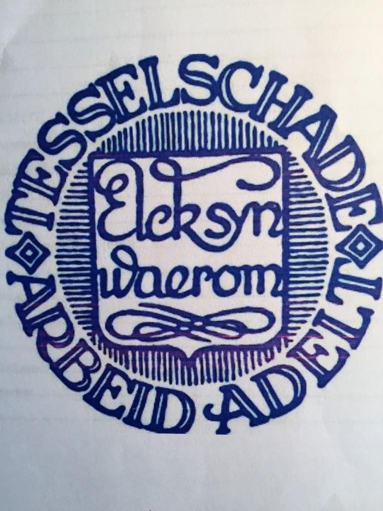 Maria Tesselschade (1594-1649) ondertekende haar brieven met haar lijfspreuk 'Elck syn waerom'
