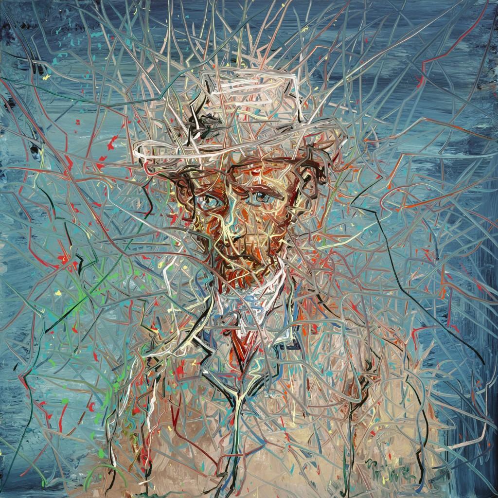 Zeng Fanzhi, Van Gogh IV, foto Van Gogh Museum