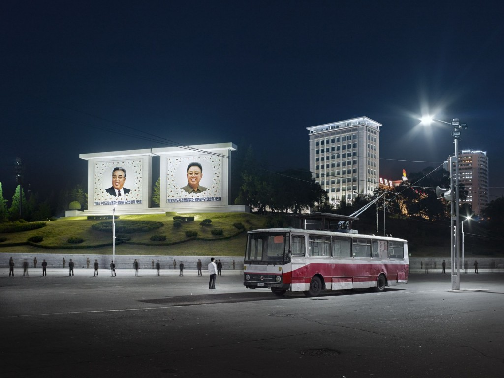 View Somun Street Pyongyang, 2015, Eddo Hartmann