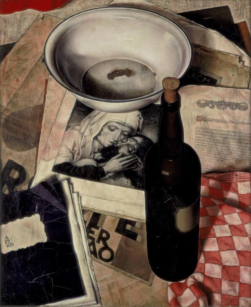 Dick Ket, Stilleven met piëta, 1932, Stedelijk Museum Amsterdam