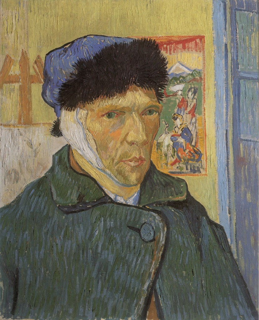 Vincent van Gogh, Zelfportret met verbonden oor, 1889, The Courtauld Gallery, London