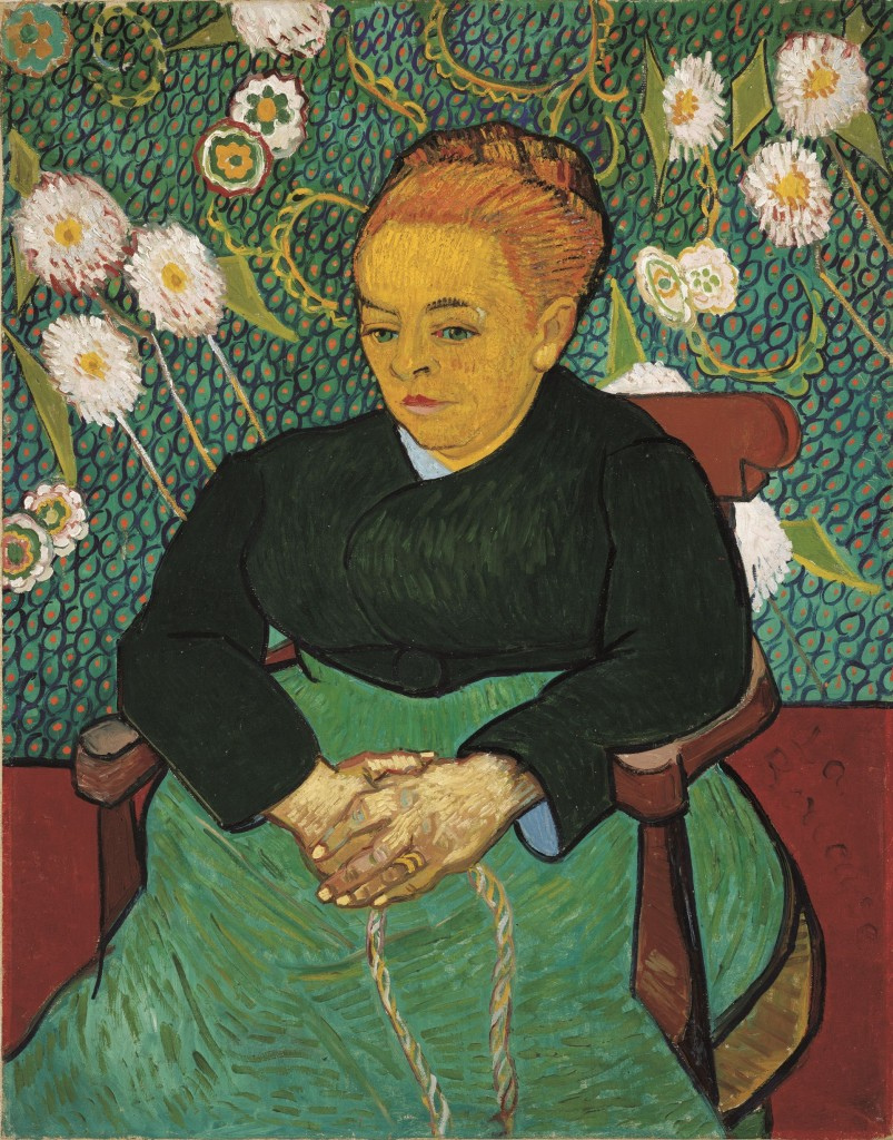 Vincent van Gogh, De wiegster, 1889, The Art Institute of Chicago