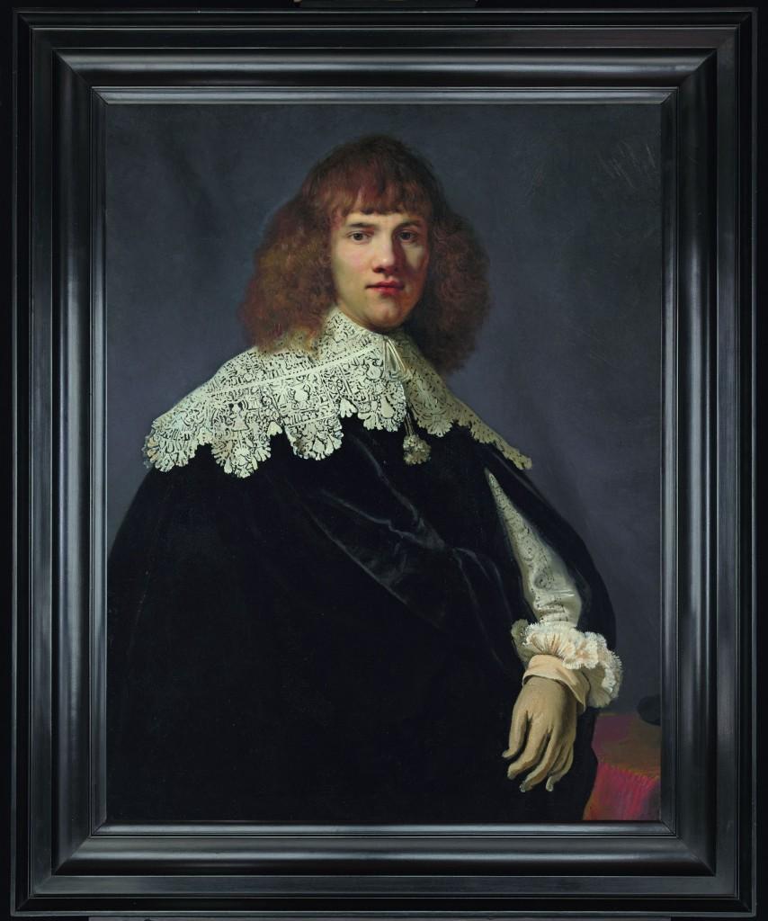 Rembrandt van Rijn (1606-1669), Portret van een jonge man (olieverf op doek, 94,5 x 73,5 cm), foto: René Gerritsen