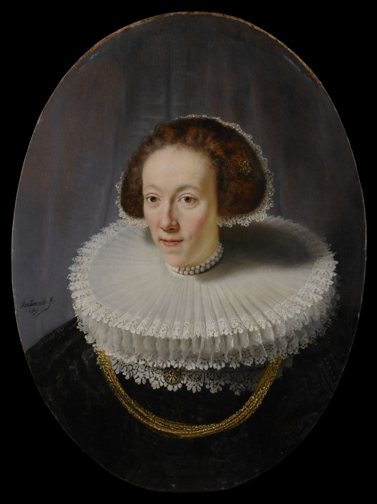 Rembrandt, Portret van Petronella Buijs, 1635, New York, The Leiden Collection